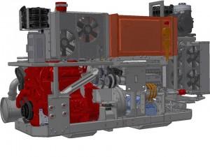 Vantage Power B320 hybrid retrofit power train for London buses