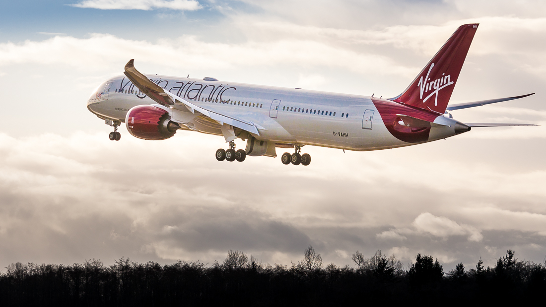 Virgin Atlantic takes new carbon reduction initiatives