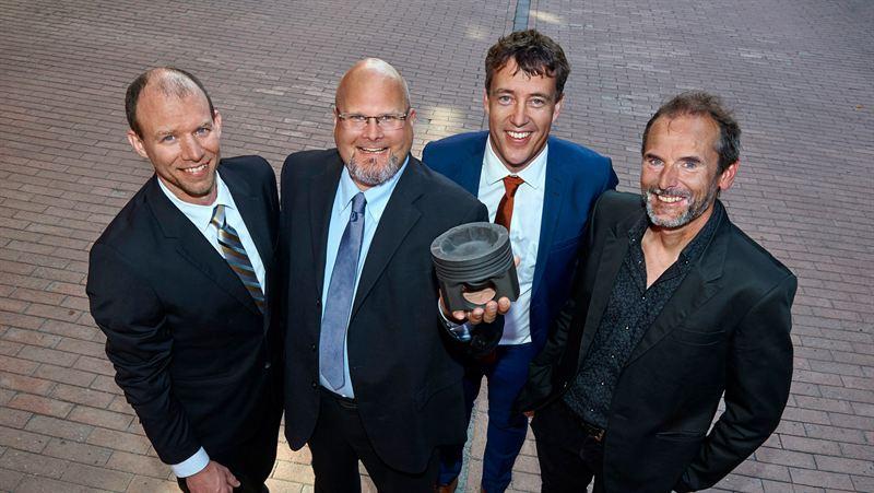 Volvo wins design award for wave piston