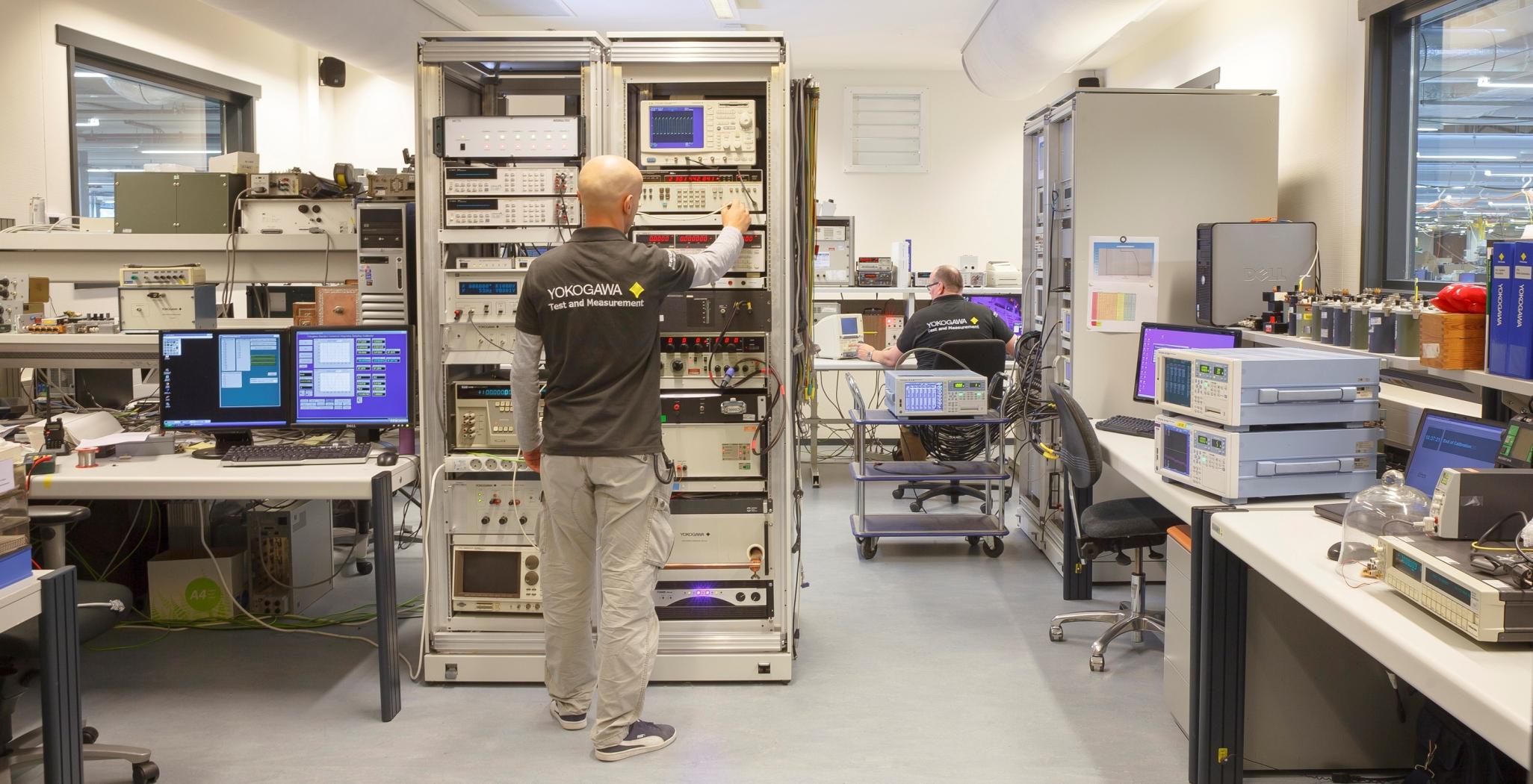 Yokogawa calibration laboratory accreditation