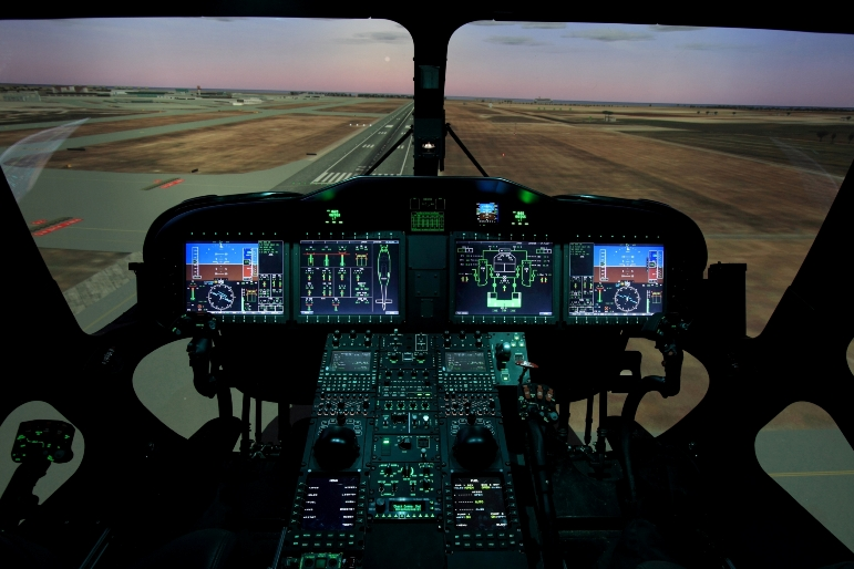 Helicopter flight simulation MoU with Malaysia