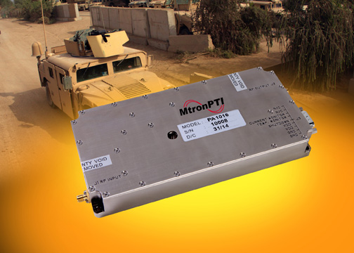 IED counter measures RF power amplifiers available in UK