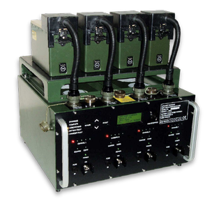 Battery charger goes into service with British Armed Forces