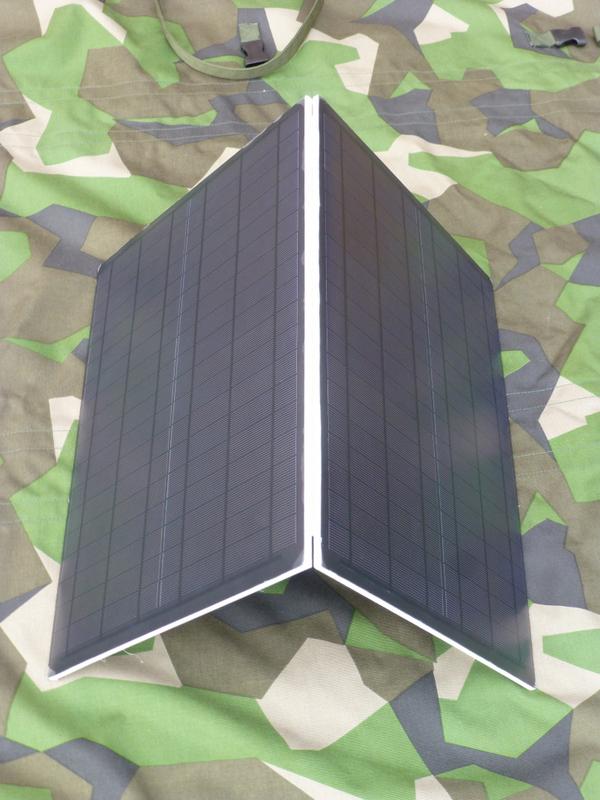 Fibre-reinforced solar panels provide ballistic protection