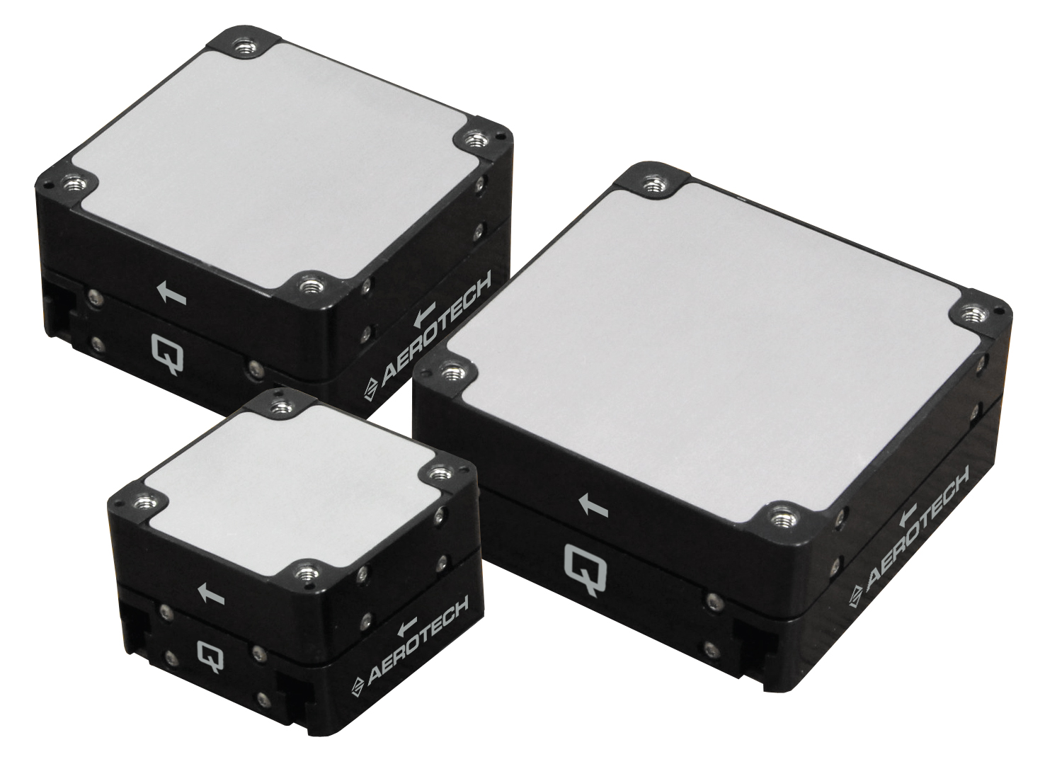 High precision XY piezo nanopositioners